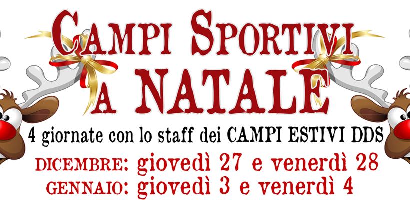 Campi sportivi a Natale