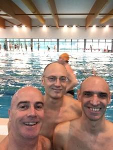 "Gabriele Marletti, Michele ""Mike"" Pagliara e Giovanni Guasti"