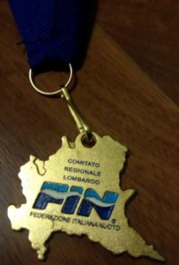 La medaglia coniata per questi Campionati Regionali