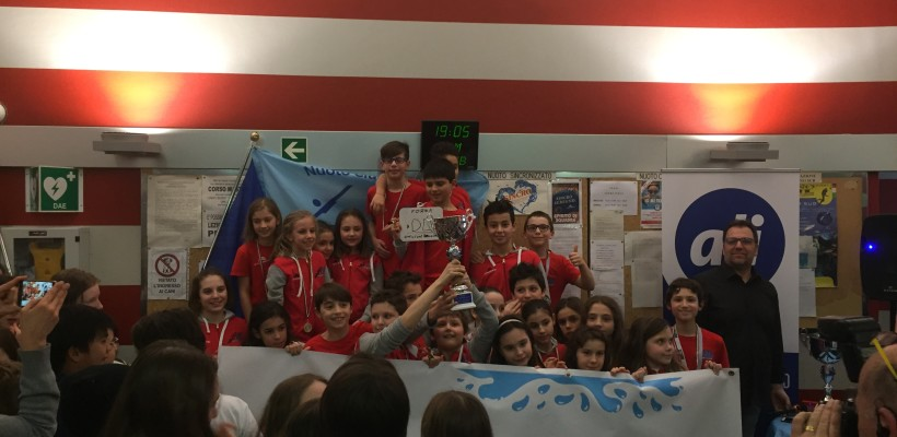 Nuoto – Gli esordienti sul podio a Seregno!