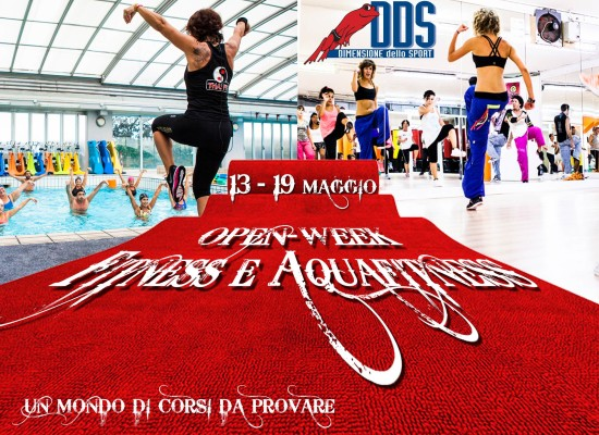 Open Week Fitness e Aquafitness