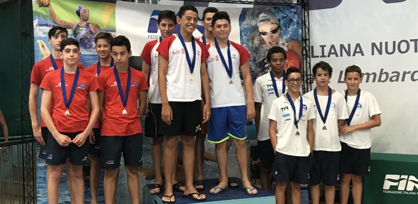 Nuoto: CAMPIONATI REGIONALI ESORDIENTI A